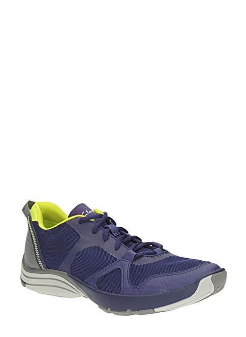 Clarks Bağcıklı Spor Ayakkabı Lacivert